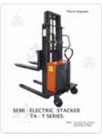 Hydraulic Semi Battery Stacker